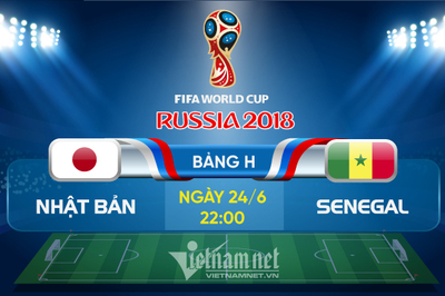 Link xem trực tiếp Nhật Bản vs Senegal, 22h ngày 24/6