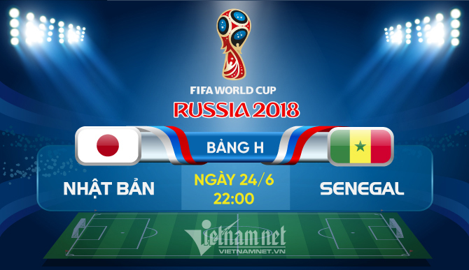 Link xem trực tiếp Nhật Bản vs Senegal