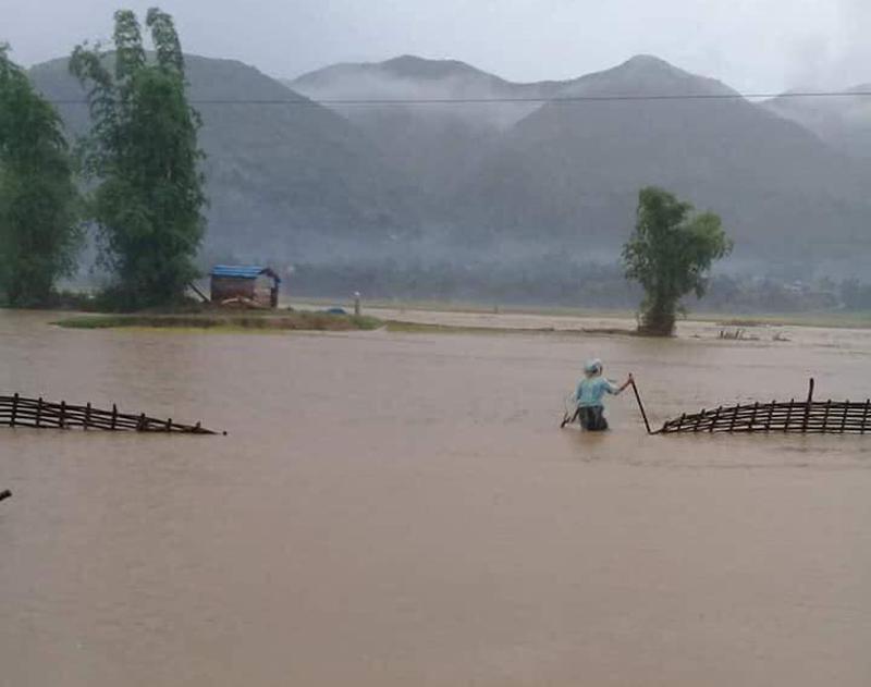 Lai Châu,mưa lớn,lũ ống,sạt lở đất