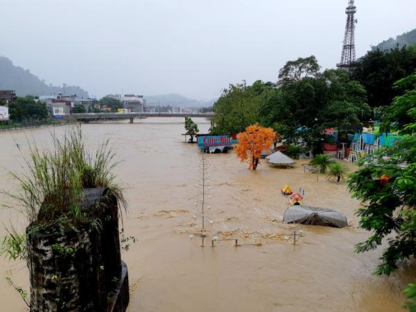 mưa lớn,lũ quét,sạt lở đất,Hà Giang