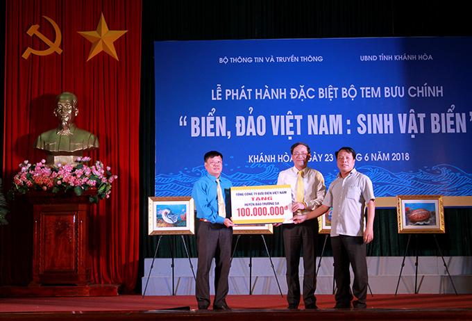 Phát hành bộ tem đặc biệt Biển, đảo Việt Nam