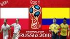 Trực tiếp Ba Lan vs Colombia: Đội hình ra sân nhiều thay đổi