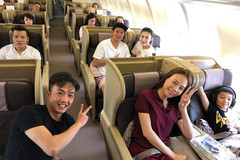 Cường Đô La lần đầu đăng ảnh du lịch với Đàm Thu Trang, Subeo