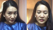 Anh Thơ, vợ diễn viên Bình Minh vô tình lộ nhan sắc thật, khác xa hình ảnh long lanh trong những bức ảnh cũ
