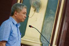 Nguyên Phó thống đốc Đặng Thanh Bình: 'Nội dung cáo trạng là không đúng'