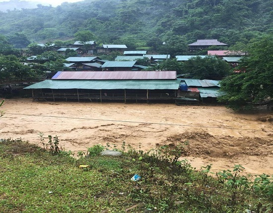 mưa lũ,lũ quét,lũ ống,mưa lớn,sạt lở đất