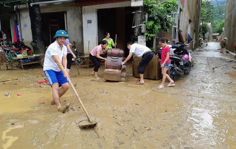 mưa lũ,lũ lụt,lũ cuốn,lũ lụt các tỉnh phía Bắc,mưa lũ 2018