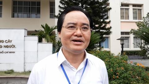 Bộ trưởng Phùng Xuân Nhạ
