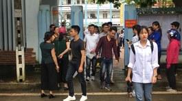 Thí sinh ở Lai Châu không đến được điểm thi vì sạt lở đường