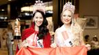 Dương Thuỳ Linh đăng quang hoa hậu ở tuổi 35