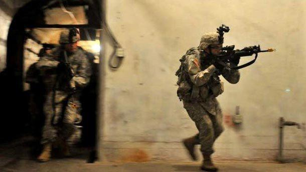 Mỹ chi 'khủng' luyện lính chiến đấu dưới lòng đất