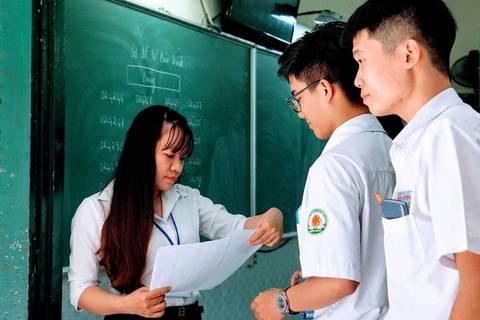 Thí sinh nhận xét đề thi toán THPT quốc gia 2018