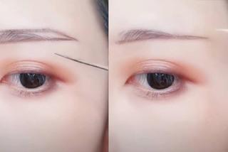 Chỉ cần một sợi tăm, bạn có thể vẽ lên cả khuôn mặt đẹp