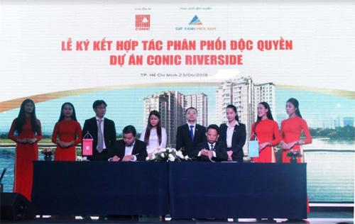 Conic ký kết hợp tác cùng Đất Xanh Miền Nam