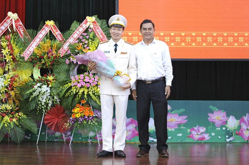 Phó chính ủy Bộ tư lệnh Cảnh sát Cơ động giữ chức GĐ Công an Đắk Lắk