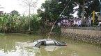 Ô tô rơi xuống ao, cán bộ Sở GTVT Hải Phòng chết ngạt