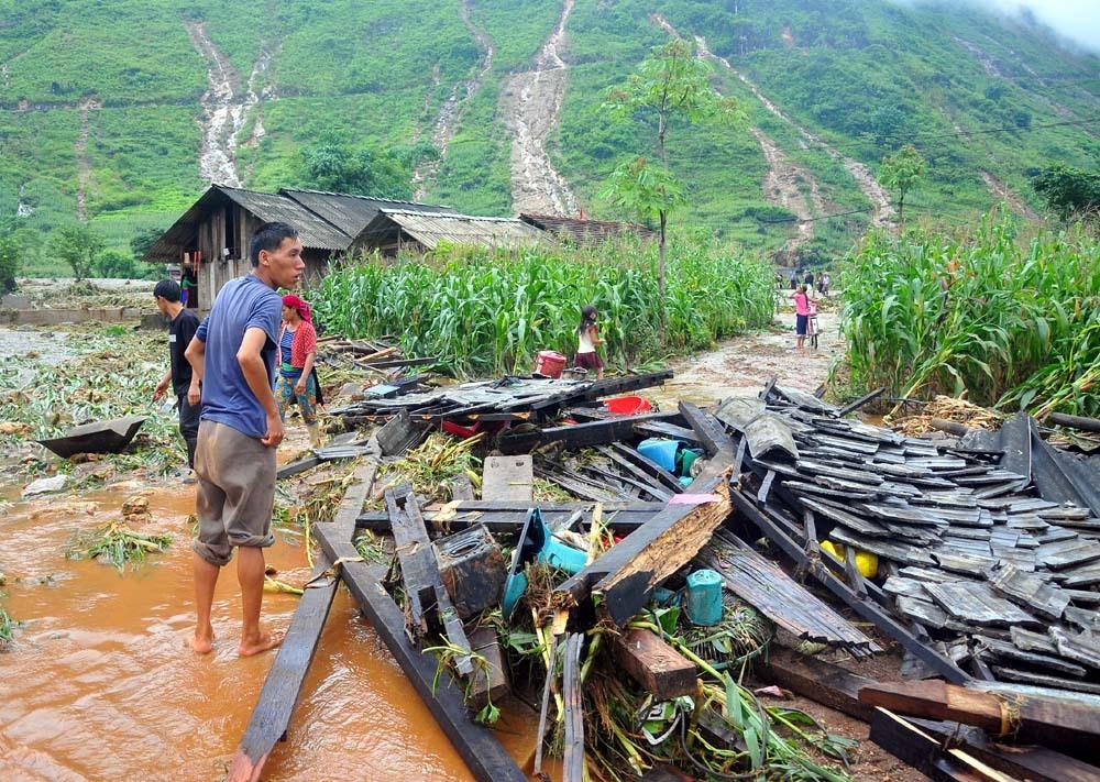 mưa lũ,lũ quét,sạt lở đất,mưa lớn,Hà Giang