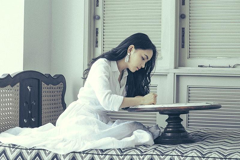 Quang Đại đầy ngọt ngào, lãng mạn viết thư tình cho Châu Bùi