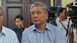Cựu Phó thống đốc NHNN Đặng Thanh Bình nghẹn ngào nói lời sau cùng