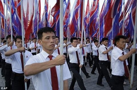 Triều Tiên,Mỹ,tuần hành,Kim Jong Un,Donald Trump