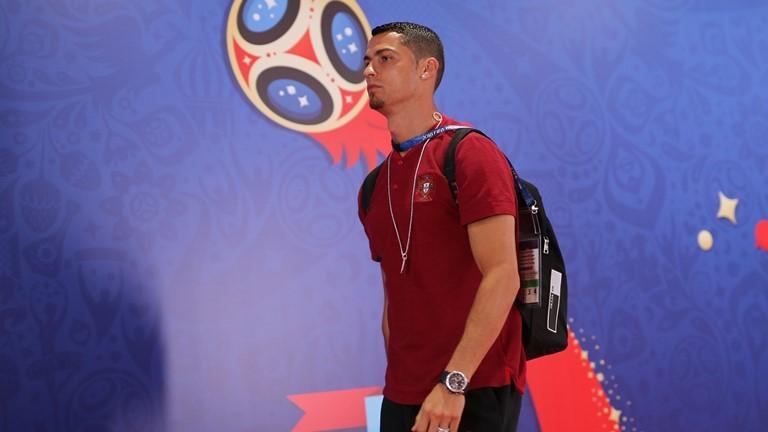 Ronaldo và Pepe đến sân