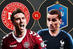 Pháp vs Đan Mạch: Nắm tay nhau đi tiếp