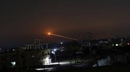 Israel nã tên lửa vào sân bay Syria