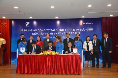 SeABank tiếp nhận Công ty Tài chính bưu điện từ VNPT