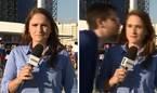 Nữ phóng viên quát người đàn ông định cưỡng hôn mình tại World Cup