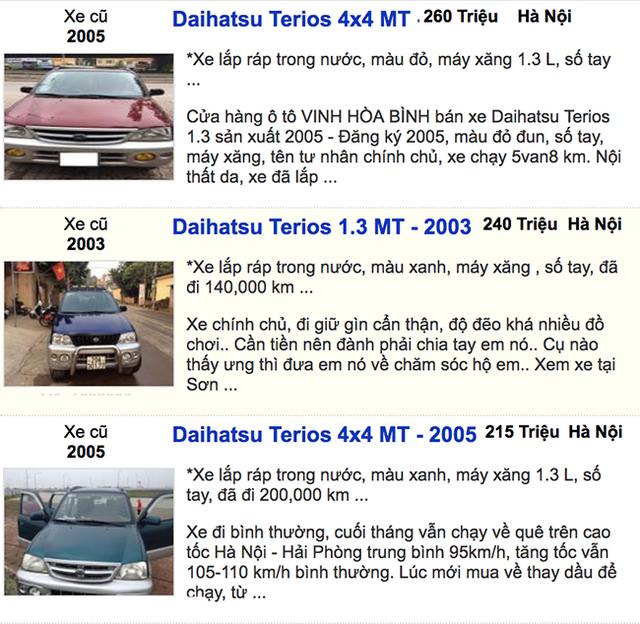 Dưới 300 triệu đồng - Mua xe ô tô cũ nào hợp lý?