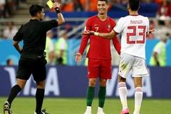 """Trọng tài Việt: """"Ronaldo xứng đáng đuổi khỏi sân"""""""