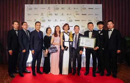 Skyline được vinh danh giải thưởng PropertyGuru Vietnam 2018