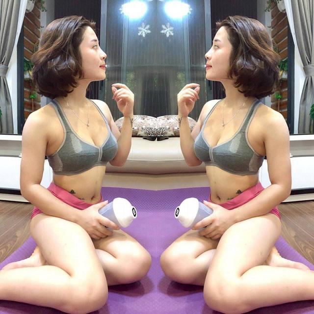 'Hot girl múa côn' chia sẻ bí quyết sở hữu vòng một gợi cảm không dao kéo