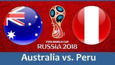 Link xem trực tiếp Úc vs Peru, 21h ngày 26/6
