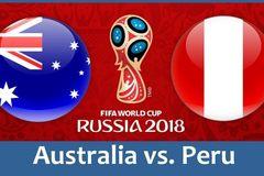 Đội hình ra sân trận Úc vs Peru: Tim Cahill dự bị