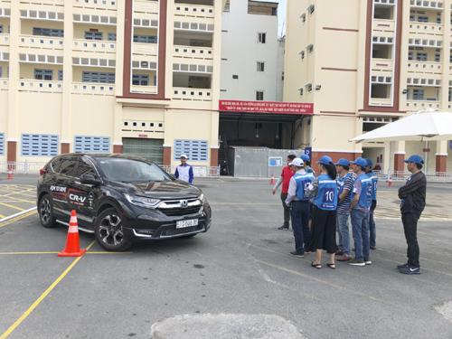 Honda ôtô Phước Thành tổ chức hướng dẫn lái xe an toàn