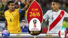 Chuyên gia chọn kèo Úc vs Peru: Lật kèo số đông