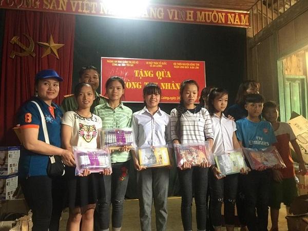 Hội thiện nguyện Đồng Tâm: Tặng quà cho học sinh và đồng bào vùng cao Yên Bái