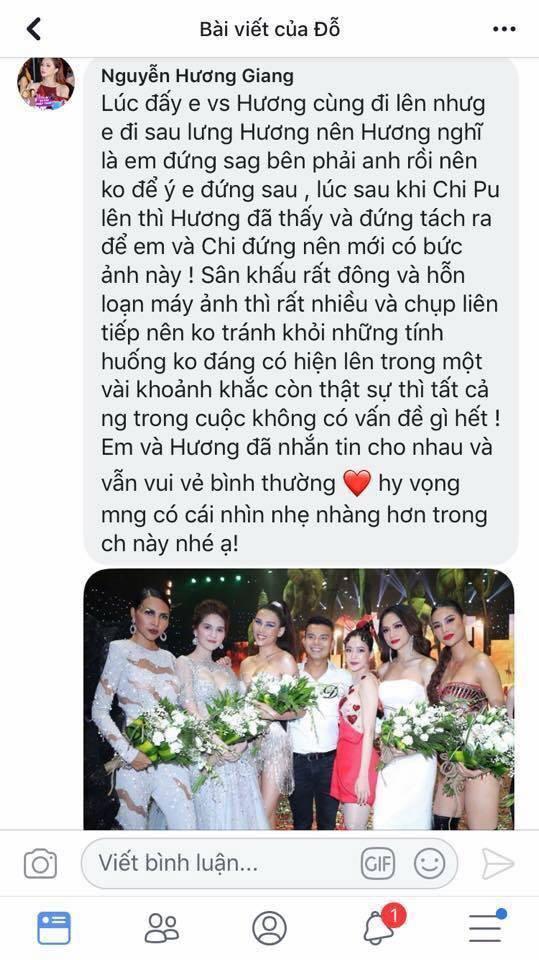 Phạm Hương, Hương Giang cùng lên tiếng về nghi vấn chèn ép nhau trong show diễn