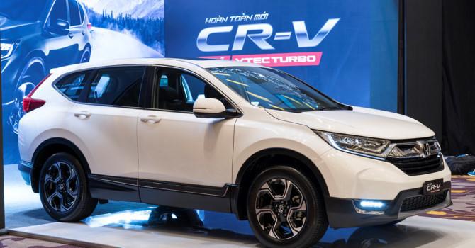 Honda CR-V,ô tô Toyota,ô tô nhập khẩu,giá ô tô,ô tô Thái Lan,ô tô Indonesia