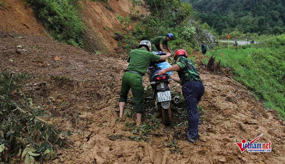 lũ quét,mưa lũ,mưa lớn,sạt lở đất,Hà Giang