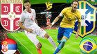 Serbia vs Brazil: Vũ điệu samba của Neymar