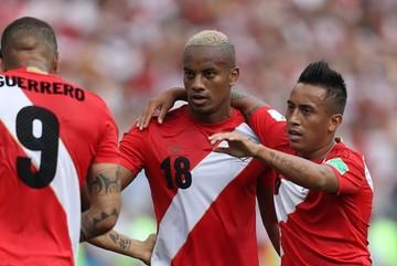 Video bàn thắng Úc 0-2 Peru