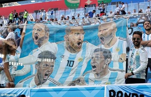 Trực tiếp Argentina vs Nigeria