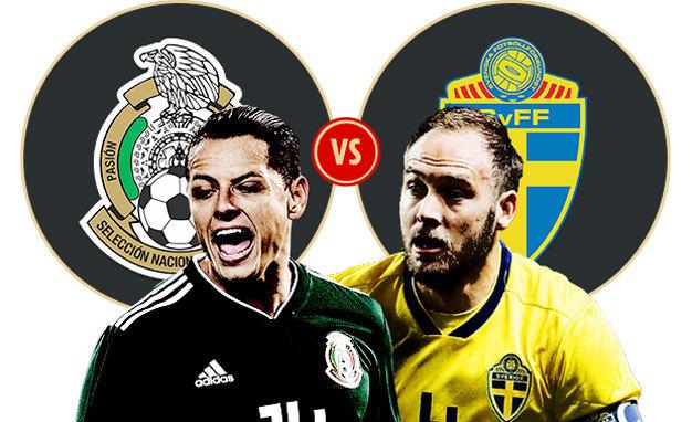 Kèo Mexico vs Thụy Điển: Phản đòn lợi hại, Mexico sẽ thắng