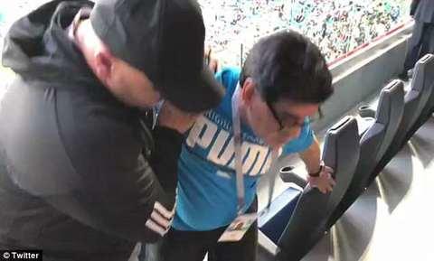 Video Maradona đột quỵ
