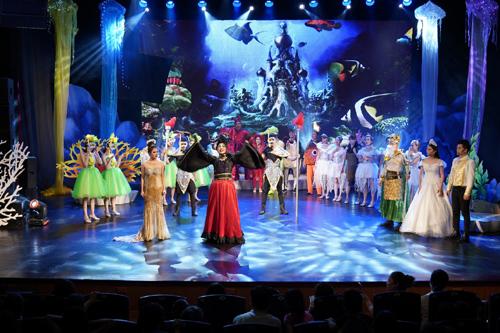'Bay lên những ước mơ'-show hấp dẫn trẻ em nhất mùa hè