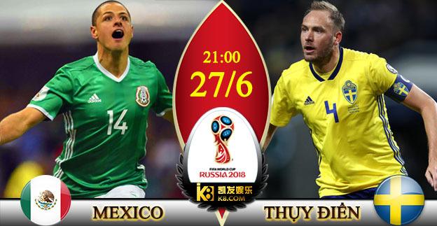 Chuyên gia chọn kèo Mexico vs Thụy Điển: Khó lường