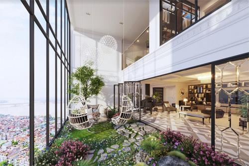 Sức hấp dẫn đầy mê hoặc của căn hộ duplex Ancora
