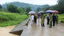 Thiếu úy công an bị lũ cuốn trôi ở Quảng Ninh